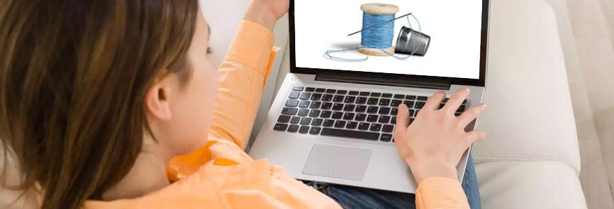 Vente en ligne d'articles de couture et de mercerie